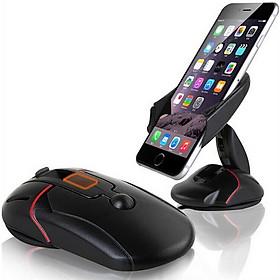 Kẹp điện thoại thông minh hình chuột máy tính xoay 360 độ tiện dụng