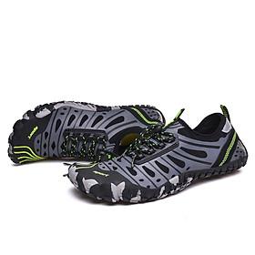 Giày đi nước chống trơn trượt, nhẹ, thoáng, phù hợp đi du lich, leo núi, thân thiện với môi trường, chịu nước tốt và nhanh khô (SA053-G)-5