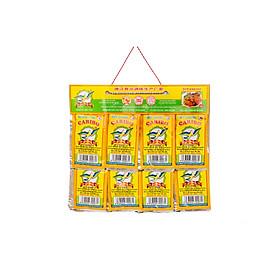 Gia vị thực phẩm Đức Giang- Bột cari bơ con én 3 gam- 100 gói/ 5 vỉ
