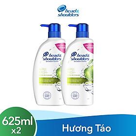 Combo 2 Dầu Gội Head & Shoulders Hương Táo 625ml