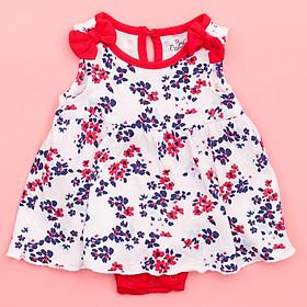 Váy sát nách cho bé gái có nơ đính vai - Chất liệu mềm, thoải mái cho trẻ vận động
