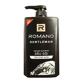 Dầu gội cho nam Romano Gentleman cho tóc chắc khỏe chai 650ml