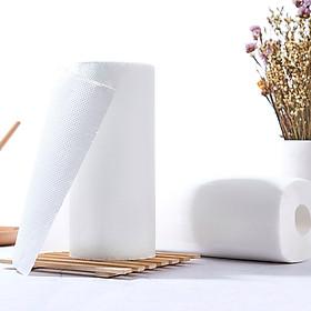 Khăn giấy lau bếp chuyên dụng nội địa Nhật Bản (2 cuộn) + Tặng gói hồng trà sữa (Cafe) Maccaca siêu ngon