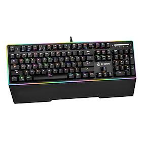 Bàn phím chơi game cơ quang E-DRA EK308 RGB MACHINE GUN - Hàng Chính Hãng