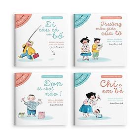 Combo Sách Ehon Nhật Bản: Chúng Mình Lớn Rồi (Set 4 Cuốn Nuôi Dưỡng Tâm Hồn Trẻ Từ 3-6 Tuổi / Ehon Cùng Con Lớn Khôn)