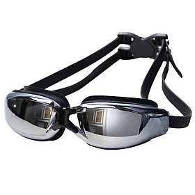 Men Women Swimming Goggles Anti-frog Waterproof HD Myopia/Plain Glasses Goggles