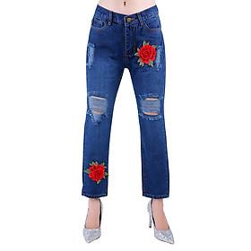 Quần Baggy Jeans Nữ Kết Hoa JNT009