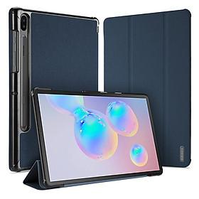 Bao da chống sốc cho Samsung Galaxy Tab S6 10.5 (T860/T865/T867) (Auto Sleep Wake) thương hiệu DUX DUCIS Domo Series cao cấp - Hàng nhập khẩu.