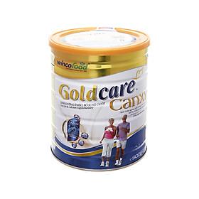 Sữa bột Wincofood GoldCare Canxi  lon 900g: dinh dưỡng ít béo ngừa tiểu đường, bổ sung canxi giúp xương chắc khỏe, MUFA, PUFA tốt cho tim mạch, phù hợp cho người từ 30 tuổi trở lên.