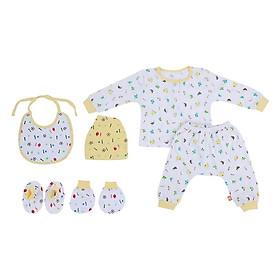 Combo 6 món sơ sinh cho trẻ Mintuu combo2 (0-6 tháng)