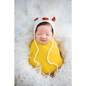 Chụp ảnh cho bé sơ sinh tại nhà của gia đình - Gói NewBorn Home Pansy