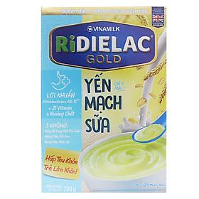 Bột Ăn Dặm Yến Mạch Sữa Vinamilk Ridielac (200g)