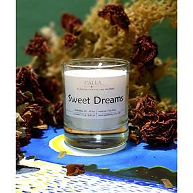 Nến thơm sáp đậu nành với tinh dầu hữu cơ tự nhiên - Sweet Dreams, mùi hương tự chọn