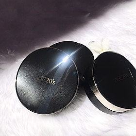 Phấn Lạnh Dưỡng Da Che Phủ Tốt Age20'S Signature Essence Cover Pact Intense Cover 21 Light Beige ( 14g X 2 Lõi )-2
