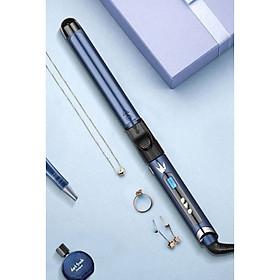 Máy Uốn Tóc trục dài lọn to Q5 LED cao cấp có 05 Mức Chỉnh Nhiệt Độ