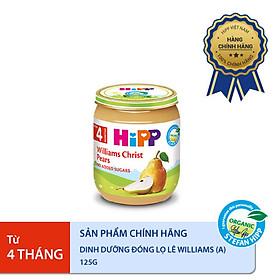 Dinh dưỡng đóng lọ ăn dặm Lê Williams HiPP Organic 125g