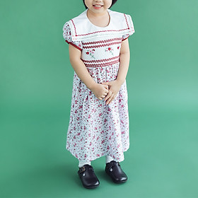 Đầm bé gái smock Chaiko House S29