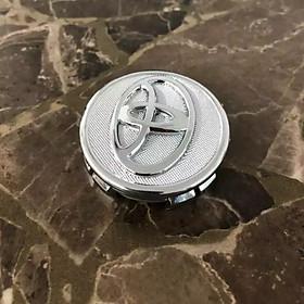 Chụp Mâm Ô Tô Logo Toyota 57mm Cho Xe Vios, Yaris, Altis