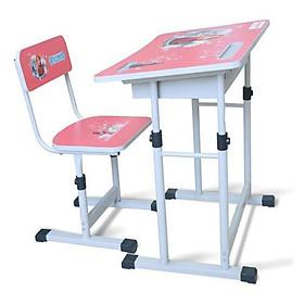 Bộ bàn và ghế Tháo lắp- tăng chỉnh phù hợp theo tư thế cho học sinh cấp 1, cấp 2- Xuân Hòa