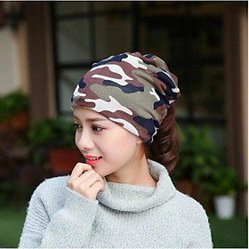 Khăn ống đi phượt - khăn quàng cổ, buộc tóc, trùm đầu (giao màu ngẫu nhiên)