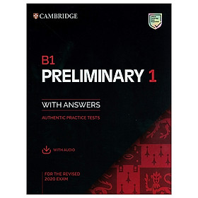 B1 Preliminary 1 For The Revised 2020 Exam Student'S Book With Answers With Audio: Authentic Practice Tests (Pet Practice Tests)
