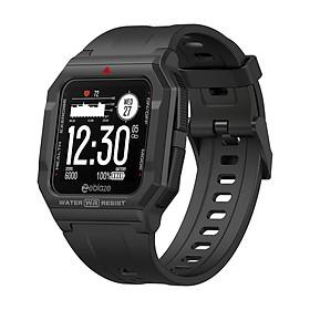 Zeblaze Ares Smart Watch Retro Ultra-Light Watch 1.3-Inch IPS Screen BT5.0 30M Waterproof Fitness Tracker Sleep/Heart