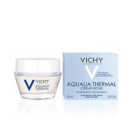Gel Dưỡng Ẩm Giúp Da Dịu Mát Cho Da Thường, Da Hỗn Hợp & Da Nhạy Cảm Vichy Aqualia Thermal Rehydrating Gel Cream (15ml)