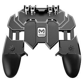 Tay cầm điện thoại thông minh MEMO AK66 chơi game PUBG ROS Freefire mobile hỗ trợ 4 ngón tay- HÀNG CHÍNH HÃNG