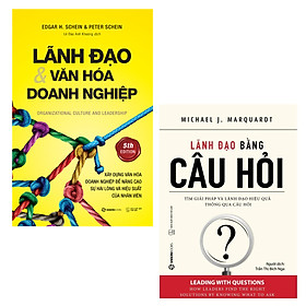 COMBO 02 QUYỂN LÃNH ĐẠO & VĂN HÓA DOANH NGHIỆP - LÃNH ĐẠO BẰNG CÂU HỎI