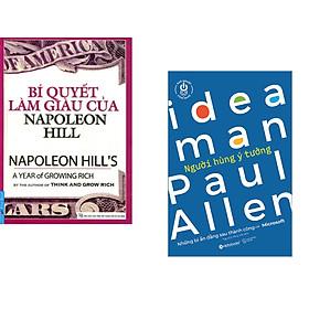 Combo 2 cuốn sách: Bí Quyết Làm Giàu Của NapoLeon Hill + Khởi nghiệp công nghệ - Người hùng ý tưởng