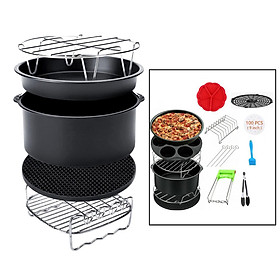14Pcs/Set Air Fryer Accs Baking Basket for Philips Fit all Airfryer 4.2-8QT
