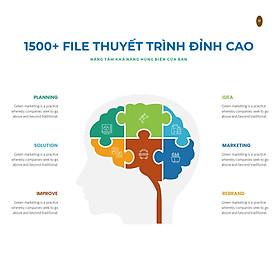 Voucher Bộ File Thuyết trình 1500+ Powerpoint Template, 800+ Infographic, 3000+ Icon - Tải Trực tuyến, truy cập TRỌN ĐỜI - Từ A đến Z, sử dụng đơn giản
