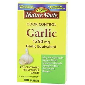Nature Made Odor Control Garlic 1,250 mg Garlic Equivalent - 300 Tablets