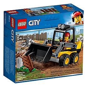 Mô hình Lego City - Xe Xúc Công Trình 60219
