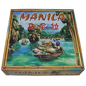 Trò Chơi Board Game Trí Tuệ Kinh Doanh MANILA - Hành Trình Vượt Sông May Rủi Hộp Cứng Chất Lượng Cao