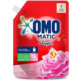 Túi Nước Giặt OMO Matic Comfort Hương Hoa Hồng Ecuador 2.0kg