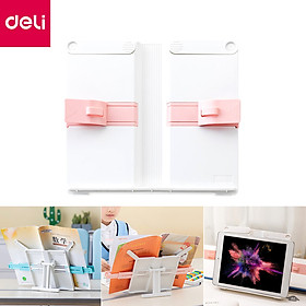 Xiaomi Youpin Deli Book Holder Portable Multifunctional Bookend Stand Recipe Shelf  Folding Tablet Holder Organizer for