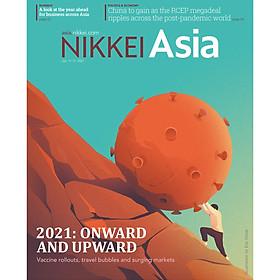 Nikkei Asian Review: Nikkei Asia - 2021: ONWARD AND UPWARD - 2.20, tạp chí kinh tế nước ngoài, nhập khẩu từ Singapore