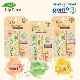 Son Dưỡng Chiết Xuất Thiên Nhiên Lipice Lip Pure Không Mùi (4g)-2
