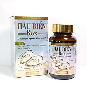 Tinh Chất Hàu Biển ROX tăng cường sinh lý nam giới, bổ thận, tráng dương, tăng ham muốn, kéo dài thời gian - Hộp 30 viên thành phần Hàu biển, Kẽm, Arginin, Coenzym Q10, Vitamin E