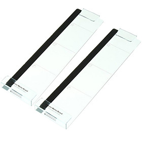 Siaonvr 2PC Computer Monitor Screen Memo Board Pads Side Panel Sticky Reminder Holders