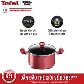 Nồi chống dính đáy từ Tefal So Chef G1354595 22cm - Hàng chính hãng