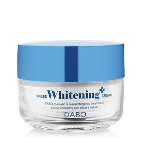 Kem dưỡng trắng da mặt Dabo Whitening Hàn quốc (50ml) Kèm 1 bông tẩy trang