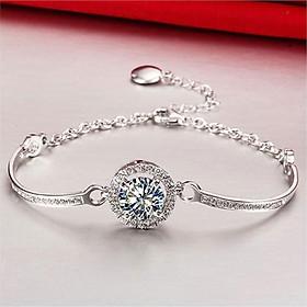 Lắc tay nữ vòng tay hoa đá 0088