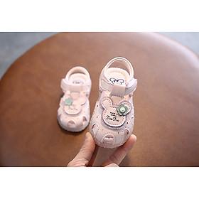 giày tập đi cho bé gái từ 0 đến 20 tháng Ankids 513