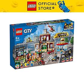 LEGO CITY 60271 Quảng Trường Thành Phố (1517 chi tiết)
