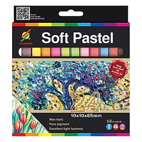 Hộp Giấy 24 Cây Phấn Màu Sost Pastel Colormate