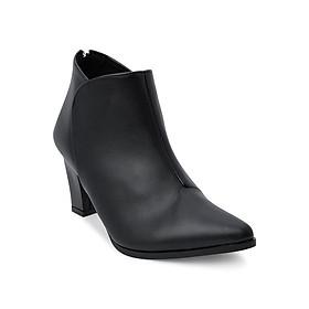Giày Boot Nữ Rosata RO137 - Đen
