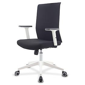 Ghế văn phòng/ ghế giám đốc bọc vải cao cấp, chân xoay 360 độ, tay vịn nâng hạ được, mã sản phẩm FWAH-002