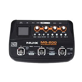 Bộ Xử Lý Đa Hiệu Ứng Cho Đàn Guitar Đầu Cắm EU NUX MG-200 (55 Hiệu Ứng)